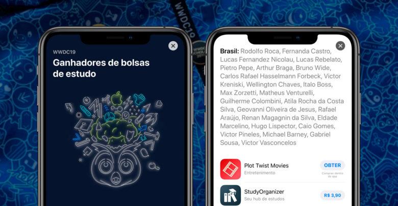 Photo of App Store destaca os estudantes brasileiros que receberam bolsa para participarem da WWDC 2019