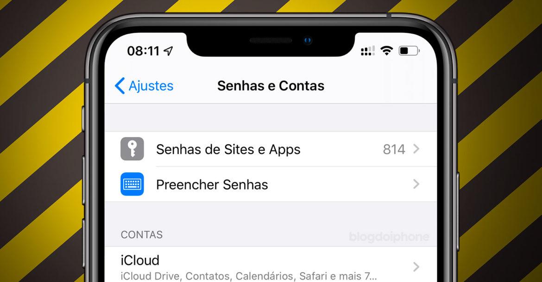 Falha no beta do iOS 13 expõe senhas do sistema
