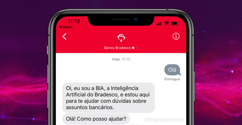 Photo of Bradesco adota chat por iMessage para se comunicar com seus clientes
