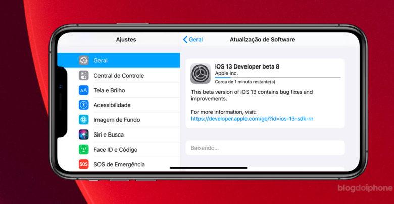 Photo of Apple libera o 8º beta do futuro iOS 13 para desenvolvedores