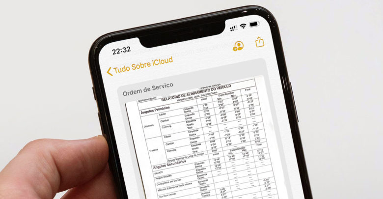 Photo of iOS 13 permite busca em documentos escaneados no app Notas