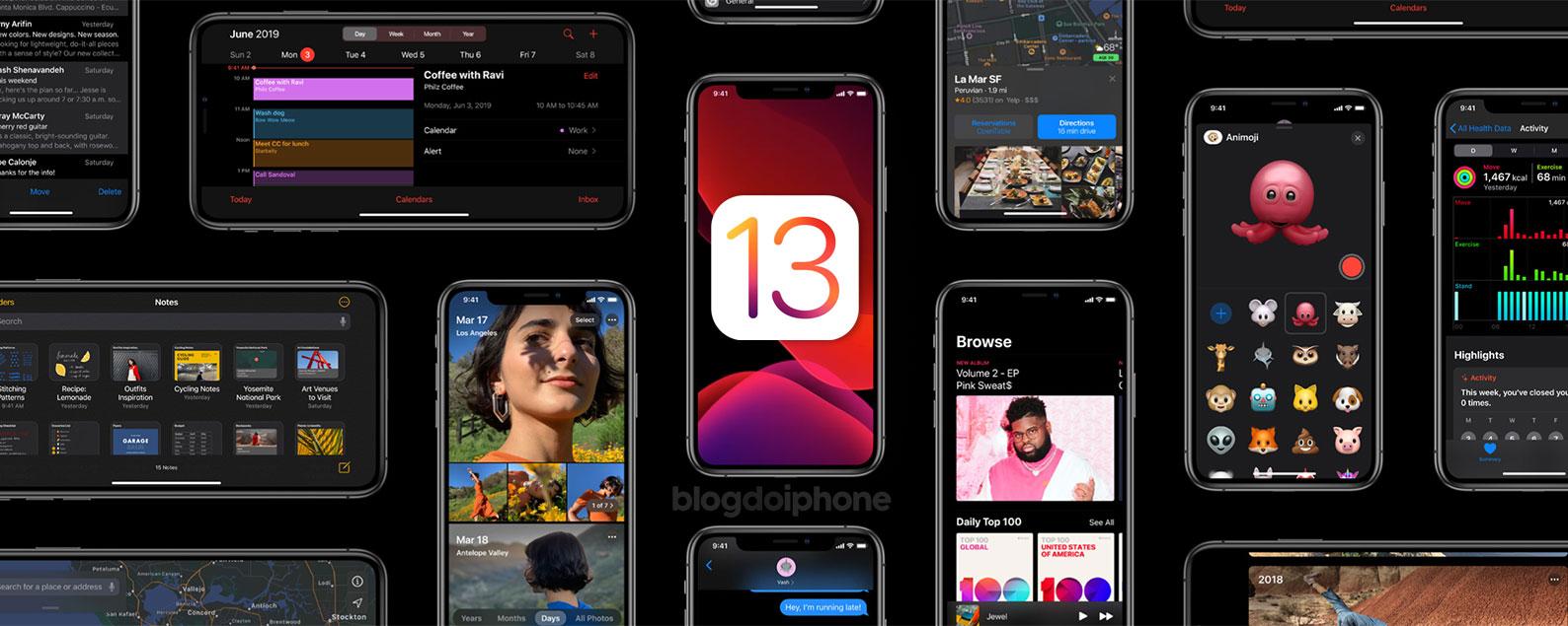 iOS 13: confira a lista completa com todas as novidades do novo sistema