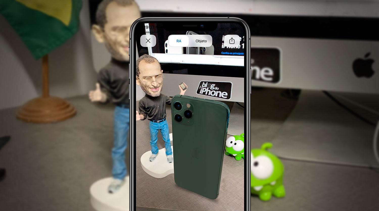 Veja Como Brincar Com O Iphone 11 Pro Em Realidade Aumentada Blog Do Iphone