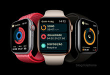 Monitoramento do sono Apple Watch