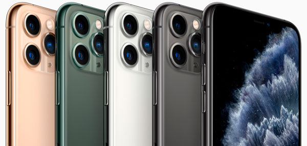 iPhone 11 Pro cores