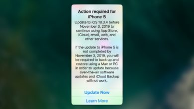Photo of Apple alerta sobre bug do GPS em iPhones e iPads antigos antes do dia 3 de novembro