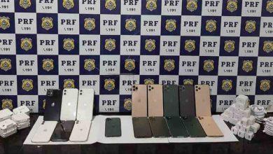 Photo of Polícia Rodoviária Federal apreende carga ilegal de iPhone 11 na Bahia