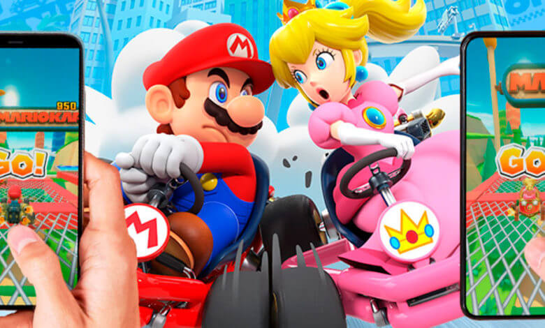 Photo of Nintendo anuncia data para modo multiplayer do Mario Kart Tour para iOS