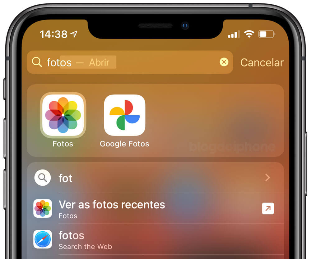 iOS 14 Quick launcher
