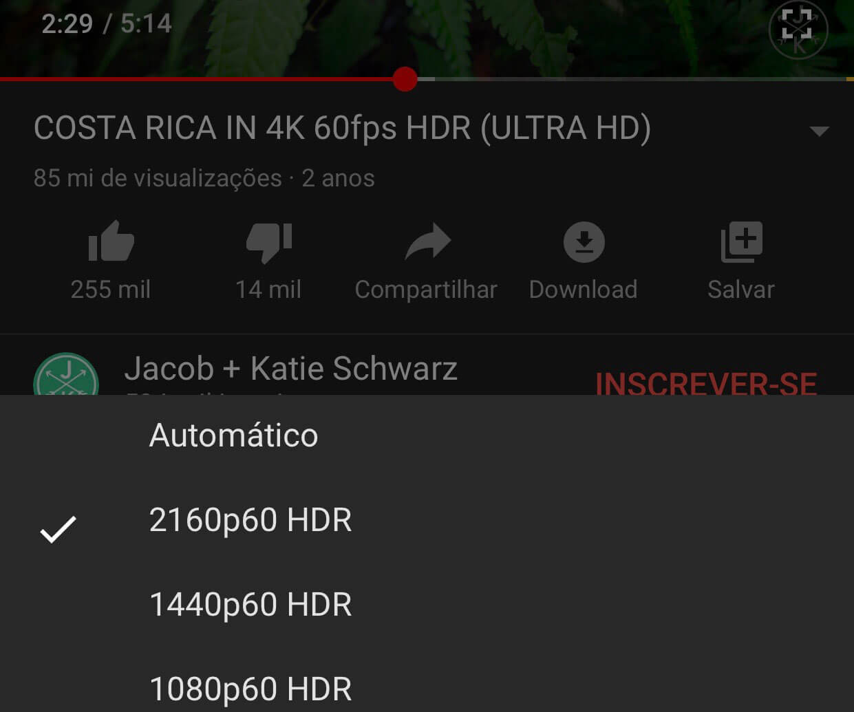 iOS 14 YouTube 4K